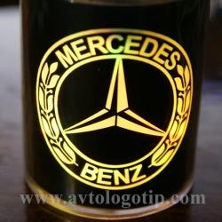 Автомобильные пепельницы с логотипом 2D