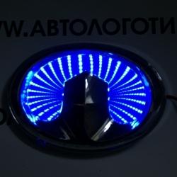 Светящиеся 3D логотипы