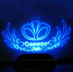 Проектор в бампер daewoo,Тень логотипа daewoo,Подсветка днища с логотипом daewoo,Проекция логотипа авто под бампер daewoo,Проектор логотипа daewoo,Подсветка машины с логотипом daewoo