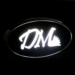 Светящийся логотип Santa Fe DM,светящаяся эмблема Santa Fe DM,светящийся логотип на авто Santa Fe DM,светящийся логотип на автомобиль Santa Fe DM,подсветка логотипа Santa Fe DM,2D,3D,4D,5D,6D