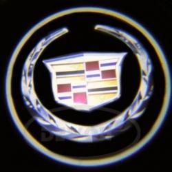 Подсветка логотипа в двери CADILLAC,подсветка дверей с логотипом CADILLAC,Штатная подсветка CADILLAC,подсветка дверей с логотипом авто CADILLAC,светодиодная подсветка логотипа CADILLAC в двери,Лазерные проекторы CADILLAC в двери,Лазерная подсветка CADILLA