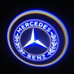 Подсветка логотипа в двери MERCEDES,подсветка дверей с логотипом MERCEDES,Штатная подсветка MERCEDES,подсветка дверей с логотипом авто MERCEDES,светодиодная подсветка логотипа MERCEDES в двери,Лазерные проекторы MERCEDES в двери,Лазерная подсветка MERCEDE