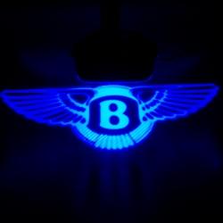 BENTLEY,Тень логотипа BENTLEY,Подсветка днища с логотипом BENTLEY, Проекция логотипа авто под бампер BENTLEY, Проектор логотипа BENTLEY, Подсветка машины с логотипом BENTLEY