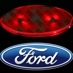 Светящийся логотип FORD FOCUS 2,светящаяся эмблема FORD FOCUS 2,светящийся логотип на авто FORD FOCUS 2,светящийся логотип на автомобиль FORD FOCUS 2,подсветка логотипа FORD FOCUS 2,2D,3D,4D,5D,6D