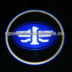 Подсветка логотипа в двери FAW,подсветка дверей с логотипом FAW,Штатная подсветка FAW,подсветка дверей с логотипом авто FAW,светодиодная подсветка логотипа FAW в двери,Лазерные проекторы FAW в двери,Лазерная подсветка FAW