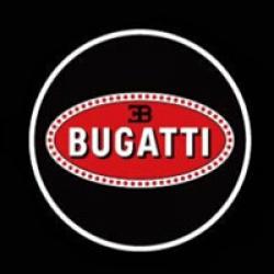 беспроводная подсветка дверей с логотипом bugatti 5w внешняя подсветка дверей 5w