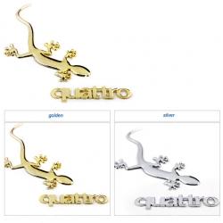 логотип ящерица на автомобиль,эмблема Ящерица Quattro,3D эмблема,наклейка Ящерица Quattro,купить Ящерица Quattro,Ящерица Quattro заказать,Ящерица купить,Ящерица Quattro доставка