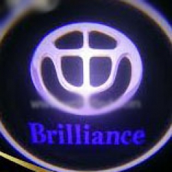 Подсветка логотипа в двери Brilliance,подсветка дверей с логотипом Brilliance,Штатная подсветка Brilliance,подсветка дверей с логотипом авто Brilliance,светодиодная подсветка логотипа Brilliance в двери,Лазерные проекторы Brilliance в двери,Лазерная подсв