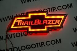 Светящийся логотип Chevrolet TrilBlazer,светящаяся эмблема Chevrolet TrilBlazer,светящийся логотип на авто Chevrolet TrilBlazer,светящийся логотип на автомобиль Chevrolet TrilBlazer,подсветка логотипа Chevrolet Blazer