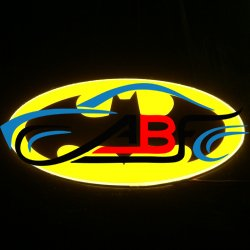 Светящийся логотип Betmen,светящаяся эмблема betmen,светящийся логотип на авто Betmen,светящийся логотип на автомобиль Betman