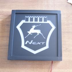 Светящийся логотип Газель Next,светящийся логотип для грузовика Газель Next,светящаяся эмблема Газель Next,табличка Газ Газель,картина Газель Next,логотип на стекло Газель Next,светящаяся картина Газ Газель,светодиодный логотип Газ Газель,Truck Led Logo Г
