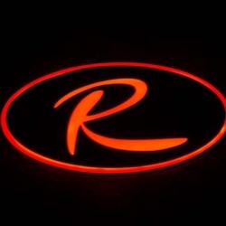 Светящийся логотип KIA Sportage R,светящаяся эмблема KIA Sportage R,светящийся логотип на авто KIA Sportage R,светящийся логотип на автомобиль KIA Sportage R,подсветка логотипа KIA Sportage R,2D,3D,4D,5D,6D