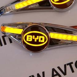 светодиодный поворотник на BYD,светодиодный поворотник для BYD,светодиодный поворотник с логотипом BYD,светодиодный поворотник с эмблемой BYD,led поворотник BYD,светодиодный LED повторитель поворота для автомобиля BYD
