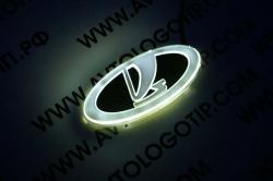 Светящийся логотип  VAZ (ВАЗ),светящаяся эмблема  VAZ (ВАЗ),светящийся логотип на авто  VAZ (ВАЗ),светящийся логотип на автомобиль  VAZ (ВАЗ),подсветка логотипа  VAZ (ВАЗ),2D,3D,4D,5D,6D