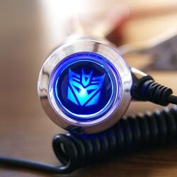 зарядка для телефона с логотипом decepticon зарядка для телефона с логотипом автомобиля