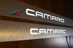 накладки,на,пороги,с,подсветкой,Chevrolet,Camaro,светящиеся,светодиодные,авто,декоративные,шевроле,камаро,подсветкой,светящиеся