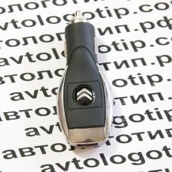Автомобильное зарядное устройство универсальное с логотипом Citroen