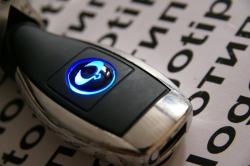 Автомобильное зарядное устройство универсальное с логотипом SsangYong