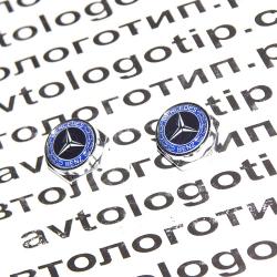 Декоративный болт для номерного знака с логотипом Mercedes Benz