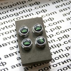 декоративных болтов на номерные знаки логотипом УАЗ купить,заказать,доставка