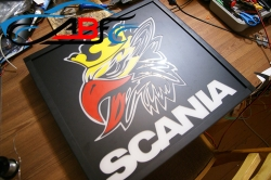 светящаяся картина SCANIA,светодиодный логотип SCANIA,Truck Led Logo SCANIA,12v,24v