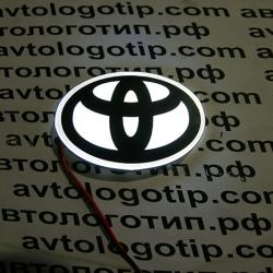 Светящийся,логотип,Toyota,светящаяся,эмблема,авто,на,автомобиль,подсветка,купить