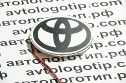 Светящийся логотип Toyota,светящаяся эмблема Toyota,светящийся логотип на авто Toyota,светящийся логотип на автомобиль Toyota,подсветка логотипа Toyota