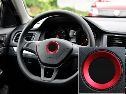 Хром окантовка логотипа на руль для Volkswagen,Кольцо накладка на руль,Хромированную окантовку эмблемы на руле,Окантовка значка на руле подходит для моделей VW