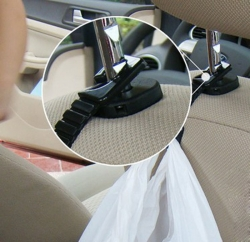 Держатель вешалка, крючки за душки подголовника переднего сиденья,Удобные крючки для подвешивания предметов, одежда, сумки, пакеты и многое другое для задней части многих автомобильных подголовников крепяться на подголовник переднего