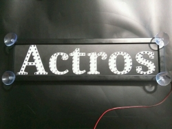 Светящийся логотип Actros,светящийся логотип для грузовика Actros,светящаяся эмблема Actros,табличка Actros,картина Actros,логотип на стекло Actros,светящаяся картина Actros,светодиодный логотип Actros,Truck Led Logo Actros,12v,24v
