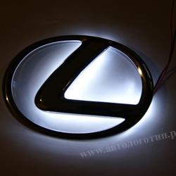 Светящийся логотип LEXUS,светящаяся эмблема LEXUS,светящийся логотип на авто LEXUS,светящийся логотип на автомобиль LEXUS,подсветка логотипа LEXUS,2D,3D,4D,5D,6D
