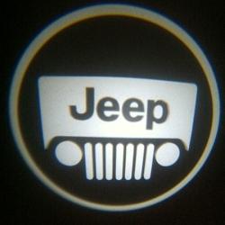 Подсветка логотипа в двери JEEP,подсветка дверей с логотипом JEEP,Штатная подсветка JEEP,подсветка дверей с логотипом авто JEEP,светодиодная подсветка логотипа JEEP в двери,Лазерные проекторы JEEP в двери,Лазерная подсветка JEEP