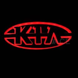 Светящийся логотип KIA,светящаяся эмблема KIA,светящийся логотип на авто KIA,светящийся логотип на автомобиль  KIA,подсветка логотипа KIA,2D,3D,4D,5D,6D