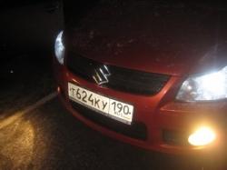 Подсветка переднего логотипа SUZUKI SX4
