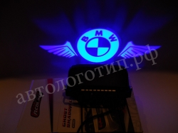 BMW, Тень логотипа BMW,Подсветка днища с логотипом BMW,Проекция логотипа авто под бампер BMW,Проектор логотипа BMW,Подсветка машины с логотипом BMW