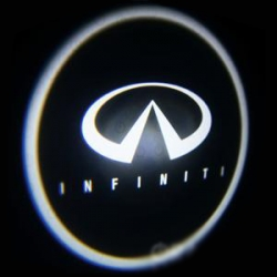 Подсветка логотипа в двери INFINITI,подсветка дверей с логотипом INFINITI,Штатная подсветка INFINITI,подсветка дверей с логотипом авто INFINITI,светодиодная подсветка логотипа INFINITI в двери,Лазерные проекторы INFINITI в двери,Лазерная подсветка INFINIT