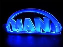 Светящийся логотип 3D MAN,светящийся логотип для грузовика 3D MAN,светящаяся эмблема 3D MAN,табличка 3D MAN,картина 3D MAN,логотип на стекло 3D MAN,светящаяся картина 3D MAN,светодиодный логотип 3D MAN,Truck Led Logo 3D MAN,12v,24v
