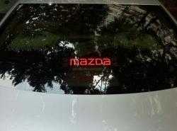 Дополнительный стоп-сигнал Mazda,стоп сигнал надпись Mazda,логотип стоп сигнал Mazda,светодиодный стоп сигнал Mazda,стоп сигнал Mazda на заднее стекла,стоп сигнал название Mazda,стоп сигнал имя Mazda
