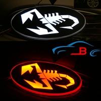 Светящийся логотип Скорпион,светящаяся эмблема Scorpio,светящийся логотип на авто скорпион,светящийся логотип на автомобиль Scorpio,подсветка логотипа Scorpio,купить,заказать,доставка