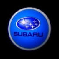 Беспроводная подсветка дверей с логотипом Subaru