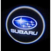 Внешняя подсветка дверей с логотипом Subaru 7W