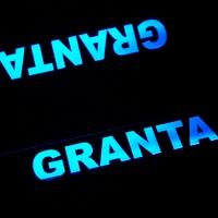 Накладки на пороги с подсветкой VAZ Granta