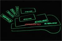 коврики в ниши автомобиля Chervolet Cruze,коврики в подстаканники Chervolet Cruze,коврики в двери Chervolet Cruze,автомобильные резиновые коврики Chervolet Cruze,подсветка салона Chervolet Cruze,подсветка подстаканников Chervolet Cruze,подсветка ниш Cherv