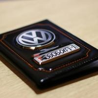 Обложка для автодокументов Volkswagen (Фольцваген)