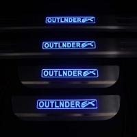 Накладки на пороги с подсветкой Mitsubishi Outlander