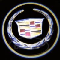 Беспроводная подсветка дверей с логотипом Cadillac