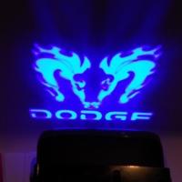 Тень логотипа dodge,Подсветка днища с логотипом dodge,Проекция логотипа авто под бампер dodge,Проектор логотипа dodge,Подсветка машины с логотипом dodge
