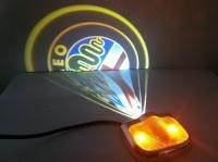 Подсветка логотипа в двери MITSUBISHI,подсветка дверей с логотипом MITSUBISHI,Штатная подсветка MITSUBISHI,подсветка дверей с логотипом авто MITSUBISHI,светодиодная подсветка логотипа MITSUBISHI в двери,Лазерные проекторы MITSUBISHI в двери,Лазерная подсв