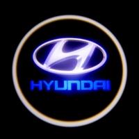 Штатная подсветка дверей Hyundai I30,Elantra,Sonata 8