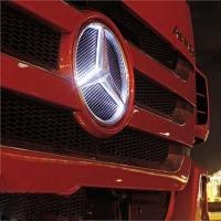 Подсветка логотипа грузовика Mercedes